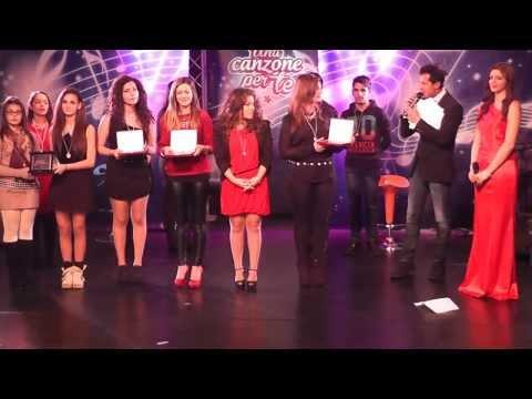 Premiazioni  Finali  a una trasmissione tv UNA CANZONE PER TE su RK