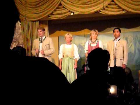 Salzburg music show - an Austrian folk song