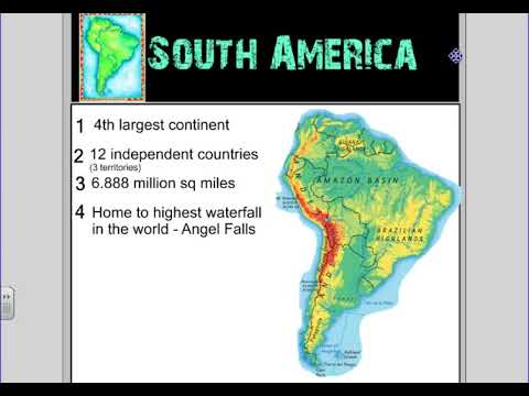 Latin America Physical Features - YouTube