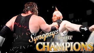 обзор Night of Champions 2015 (Synopsys)
