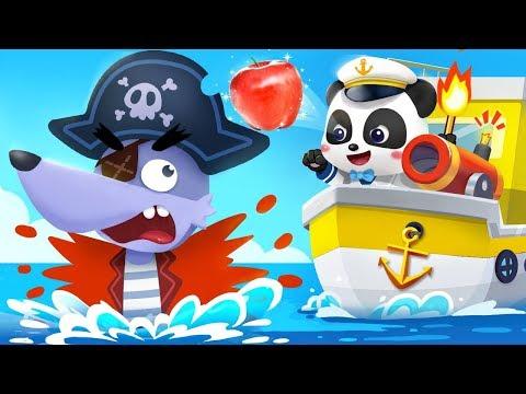 Little Captain Vs Big Bad Wolf  Nursery Rhymes  Kids Songs  Kids Cartoon  Jobs Song  BabyBus