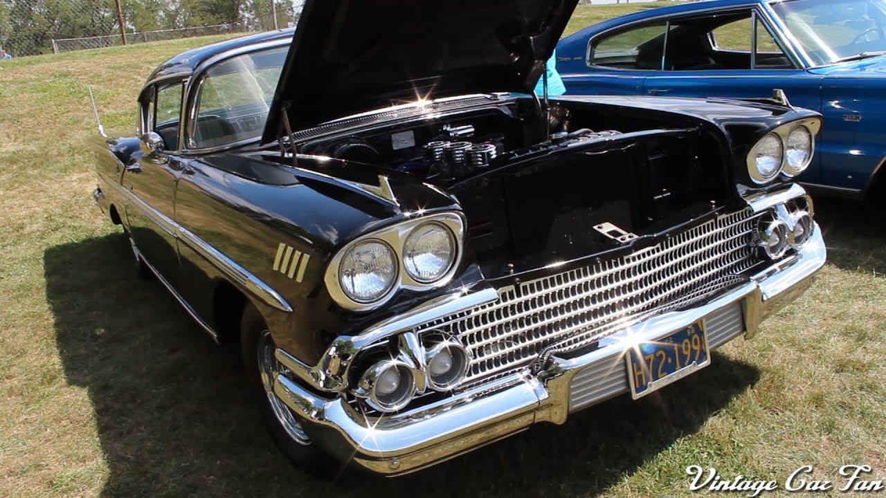 1958 chevrolet bel air impala sport coupe youtube. Black Bedroom Furniture Sets. Home Design Ideas