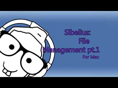 Sibelius File Management For Mac