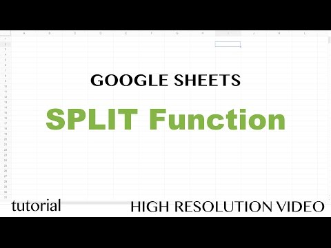 Google Sheets SPLIT Function Tutorial - Text to Columns Using a Delimiter, INDEX, COUNTA, IMPORTRSS