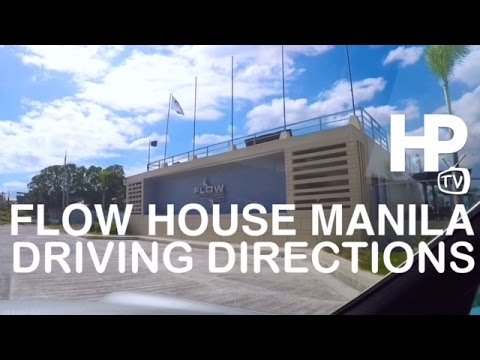 Flow House Manila Driving Directions From Makati by HourPhilippines.com