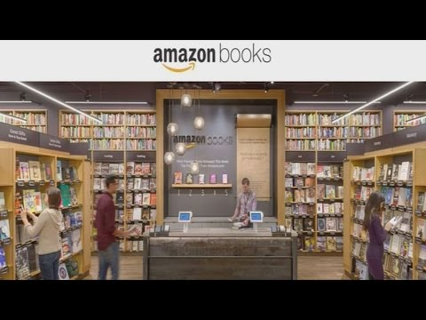 Amazon opens its first physical bookstore in Seattle