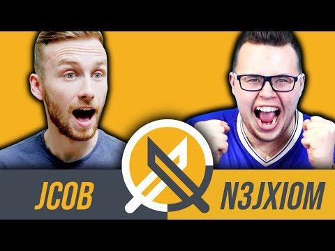 Jcob vs N3jxiom - kto lepiej zna Fifę?