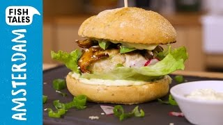 Bart's Japanese Tuna Burger | Bart's Fish Tales