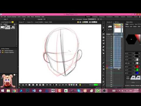 Animating in OpenToonz Realtime