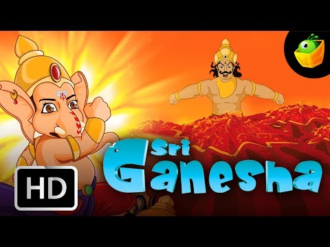 Sri Ganesha | Full Movie (HD) In English | MagicBox Animation | Animated Stories For Kids