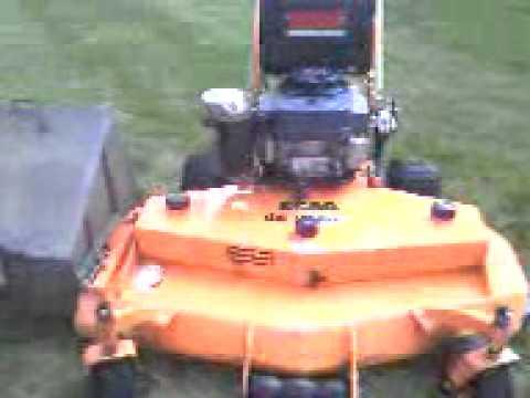 Scag sw belt drive lawn mower youtube scag sw belt drive lawn mower fandeluxe Choice Image