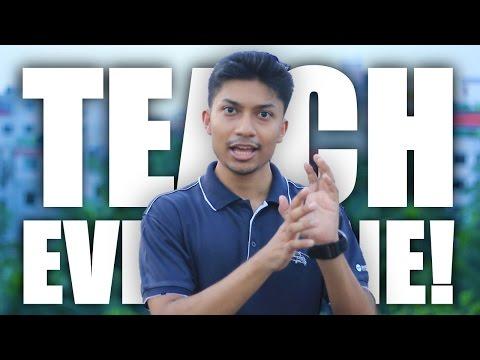 শেখাতে চাই! (Teach Everyone!) | Sadman Sadik Vlog 141 (সাদমান সাদিক)