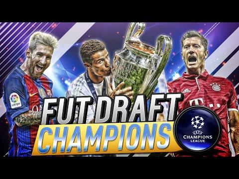 FUT DRAFT DA UEFA CHAMPIONS LEAGUE