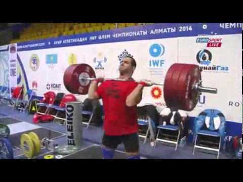 2014 World Weightlifting Championships 105kg Men (English)