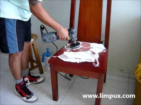 Cepillo giratorio para tapicer a y muebles youtube - Tapiceria de sillas precios ...