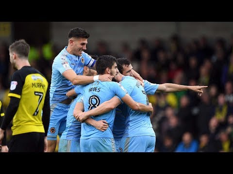 HIGHLIGHTS | Burton Albion 0-4 Wolves