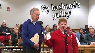 My Husband's Guilty & The broken gavel!
