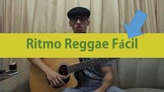 Rítmo e Batida Fácil de Reggae   Aula de Violão Iniciantes - Rítmos Fáceis #2
