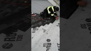 shingling a complex two weeks ago