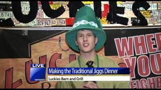 Making A Traditional Jiggs Dinner