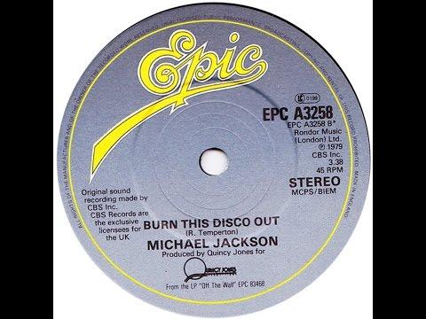 Michael Jackson - Burn This Disco Out (Acapella) written by Rod Temperton