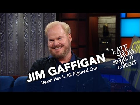 Jim Gaffigan Thinks The Japanese Are The Best At Being Human