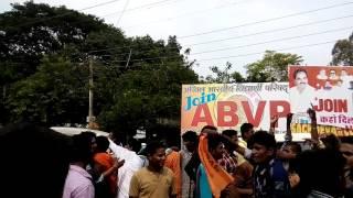 ABVP wins at Baikunthpur koriya collage
