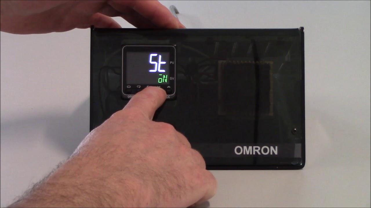 omron temperature controller wiring diagram shunt e5c series setup of pid control youtube