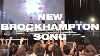 BROCKHAMPTON Performs NEW Song From Their Album Ginger (Live @ BILBAO BBK LIVE 2019)