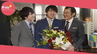 おっさん同士の純愛を描き、話題のテレビ朝日系「おっさんずラブ」(土...