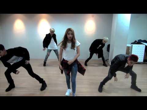 [Dance Practice] BOYFRIEND - BOUNCE 안무연습 feat.SISTAR