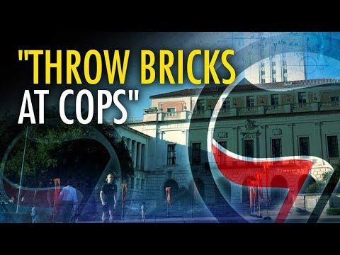 Antifa Students: Throw Bricks At Cops | Campus Unmasked