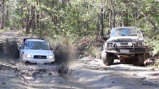 Subaru destroys