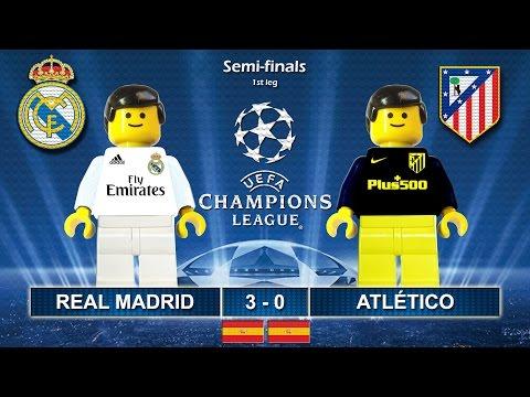 Real Madrid vs Atletico Madrid 3-0 • Champions League 2017 (02/05/2017) highlights Lego Football