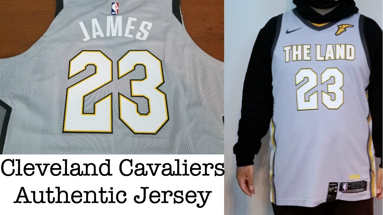 more photos 2ed2c 86d21 Nike x NBA Cleveland Cavaliers City Edition Authentic Jersey - LeBron James