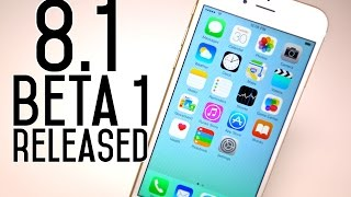 iOS 8.1 Beta 1 Released! See What