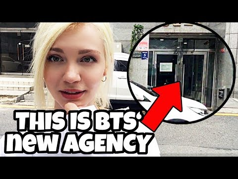 Visiting Big Hit Entertainment in Seoul