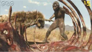 【人類誕生CG】240万年前の人類のライバルはハイエナ!?【NHKスペシャル×NHK1.5ch】