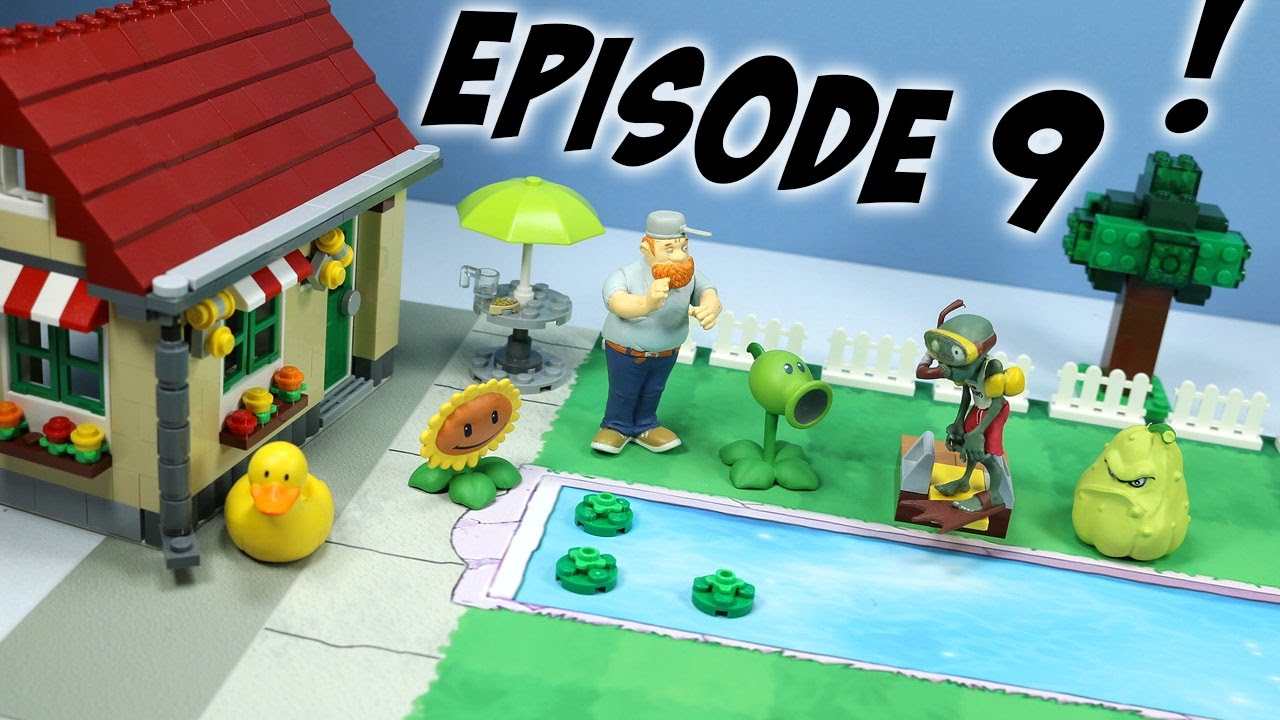 Zombies Toy Play Episode 9: The Backyard Pool Party   YouTube
