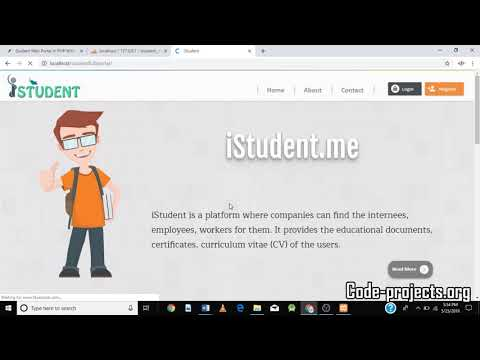 How To Create Student Portal Website Using Php| Source Code & Projects
