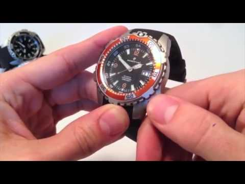 Screw Down Crown Setting Instruction Dive Watch Youtube