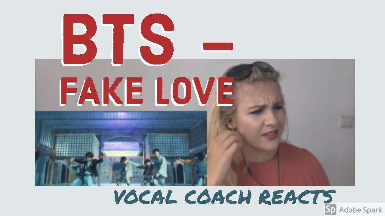 Vocal Coach Reaction Bts Fake Love Bts Fake Love Official Mv