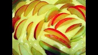 Потрясающе вкусная Шарлотка с яблоками Без дрожжей🍎.Яблочный пирог 🍎. baking with apples.Apple pie