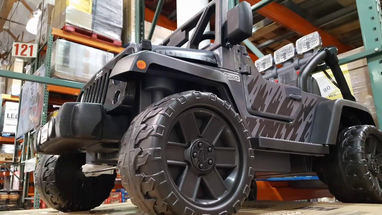 Costco! Power Wheels Jeep Rubicon Recon 12 Volt Ride-On! $249 ...