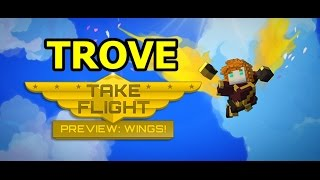 [Trove Flying] Take Flight in Trove with Fire Wings & Ride in Style with Trovian Supercycle