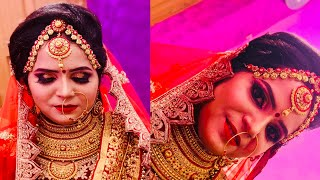 Bridal makeup step by step ||mac makeup ||full HD makeup look +hairstyles ||