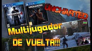 Uncharted: El legado perdido | Uncharted 4 | PS4 gameplay Multijugador DE VUELTA!!! | Español