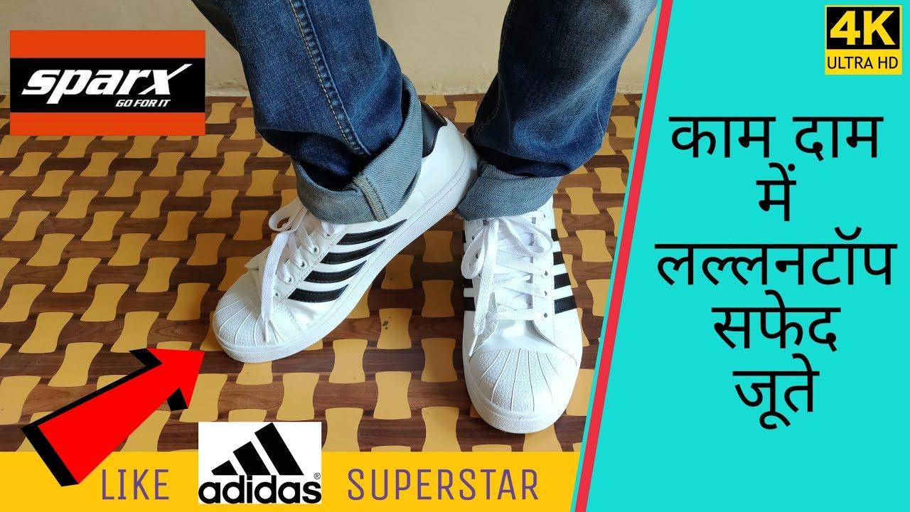 Adidas Superstar Best White Canvas Shoe