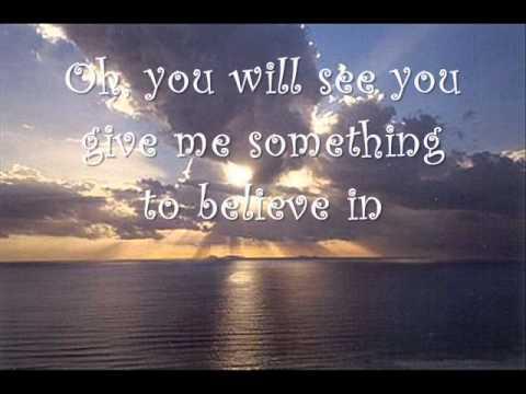 New Heights -  Something to believe in Lyrics ♥