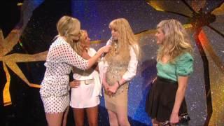Fearne Cotton interviews Geri Halliwell, Courtney Love & Ellie Goulding backstage   BRIT Awards 2010